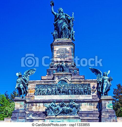 Niederwald Monument,   Ruedesheim on Rhein - csp11333855