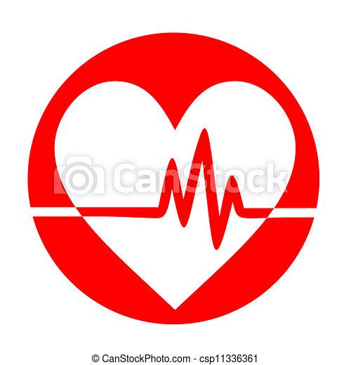 clip art vector of heart pulse creative design of heart free heart rhythm clip art heart rhythm clipart transparent background