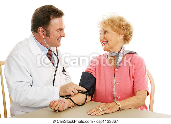 Senior Medical - Blood Pressure Normal - csp1133867
