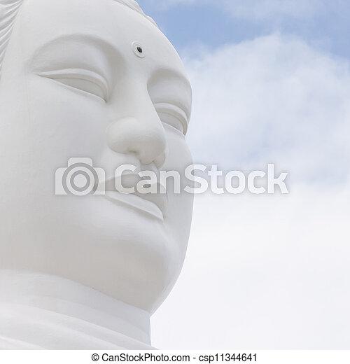 Buddha, landmark on Nha Trang, Vietnam - csp11344641