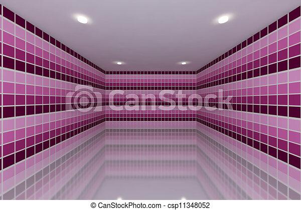 stock de ilustraciones rosa azulejo pared diseo tono