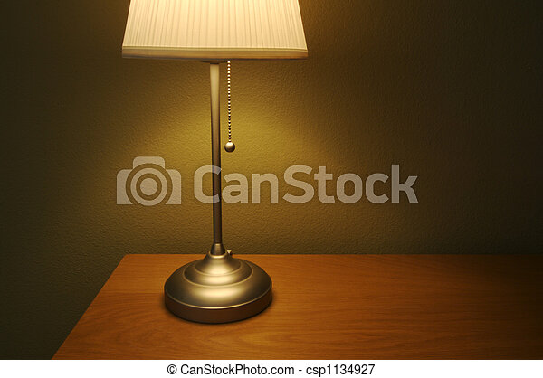 Lamp and Table - csp1134927