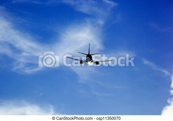 start of the aircraft - csp11350070