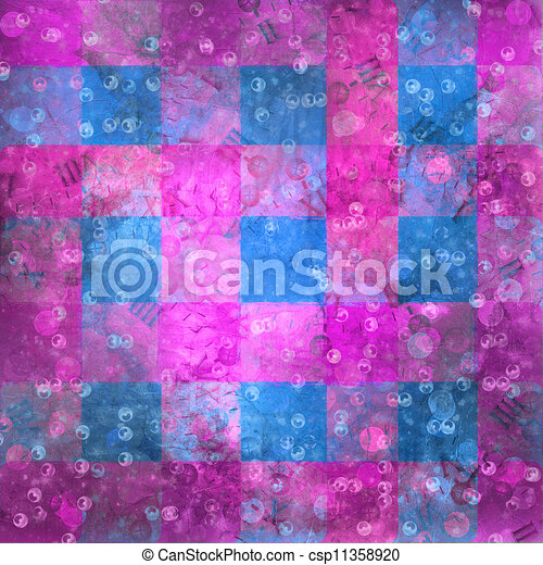 Abstract ancient background in scrapbooking style with gold ornamentat - csp11358920