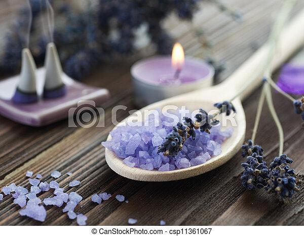 Aromatherapy. Lavender Spa