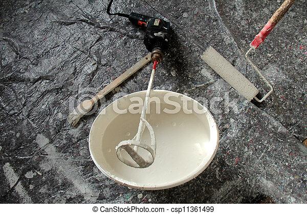 tools for renovating - csp11361499