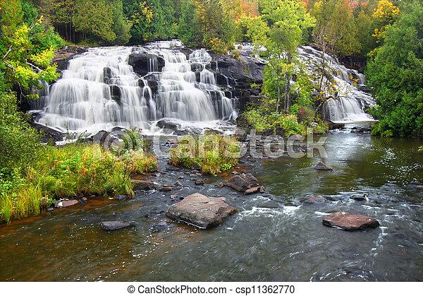 Bond Falls Scenic Area - csp11362770