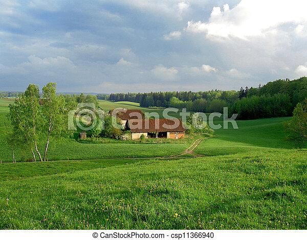rural buildings - csp11366940