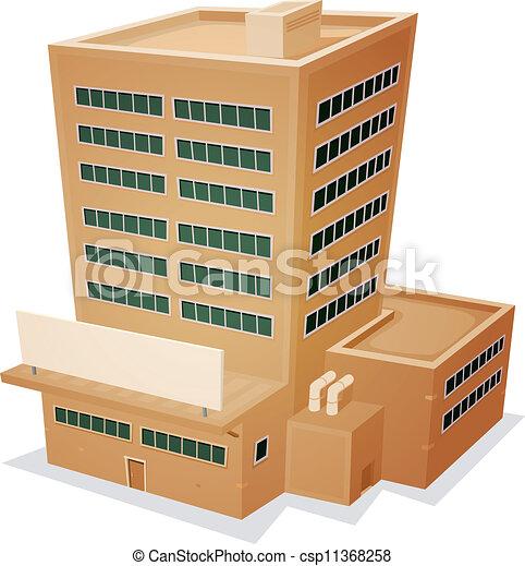Factory Building - csp11368258