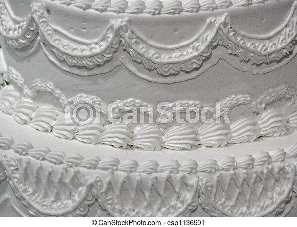 ケーキ, 結婚式 - csp1136901