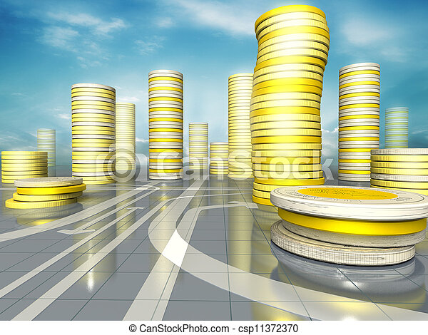Coins city - csp11372370