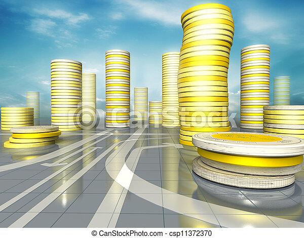 Coins city - csp11372370