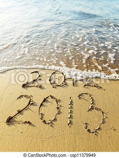 New Year 2013 - csp11379949