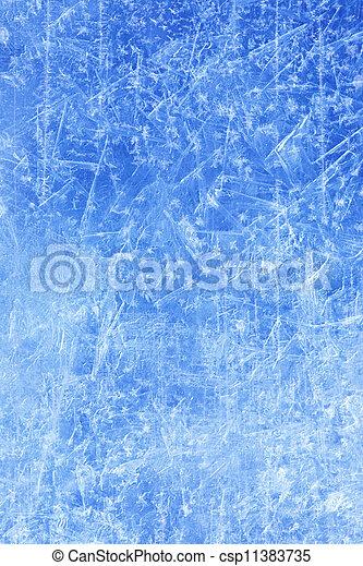 hiver, résumé, texture, glace, fond, noël - csp11383735