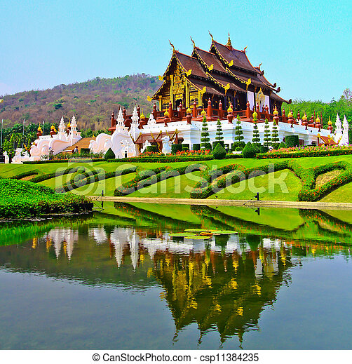 Horkumluang in Chiang Mai Province Thailand  - csp11384235