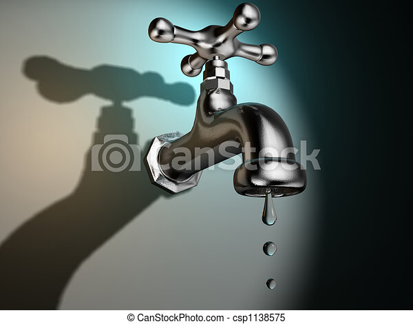 Dripping faucet - csp1138575