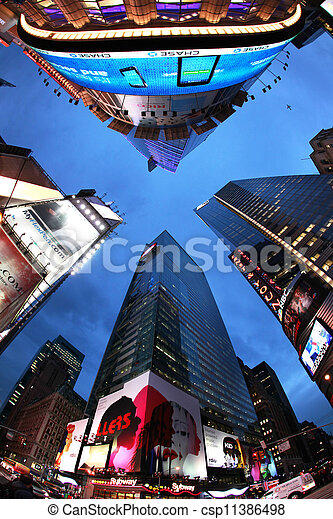 Times Square. New York City - csp11386498