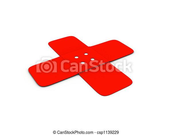 Adhesive-plaster - csp1139229