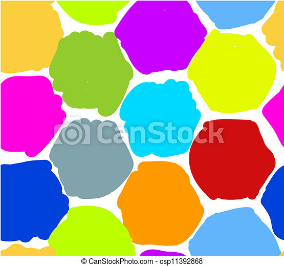 Abstract honeycomb pattern for your design - csp11392868