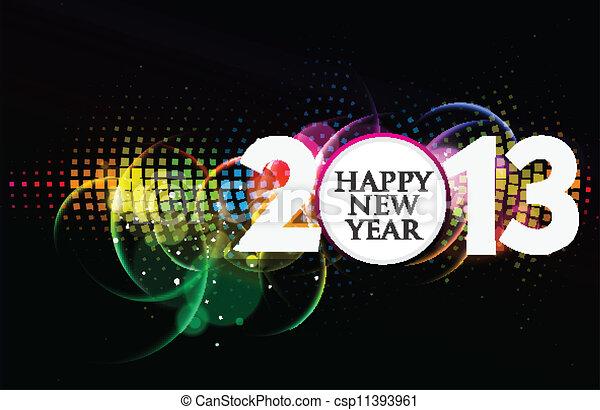 new year 2013  - csp11393961