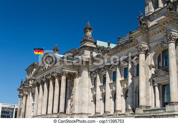Berlin Government District - csp11395753