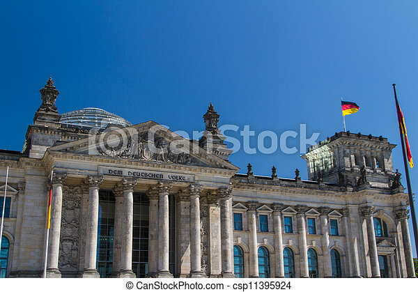 Berlin Government District - csp11395924