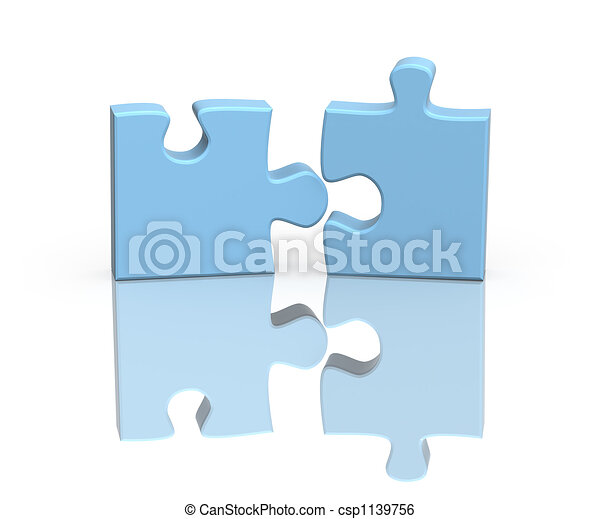 Two parts of a puzzle - csp1139756