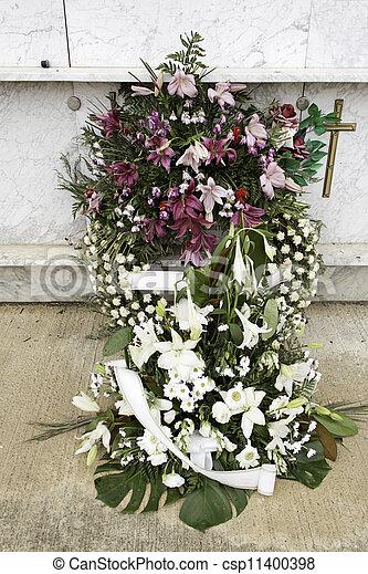 Religion wreath - csp11400398
