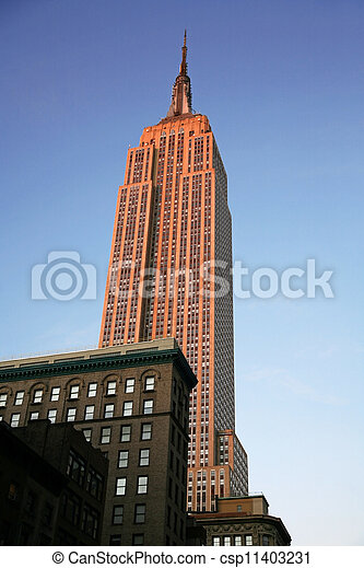 classical NY - Empire State Building in Manhattan