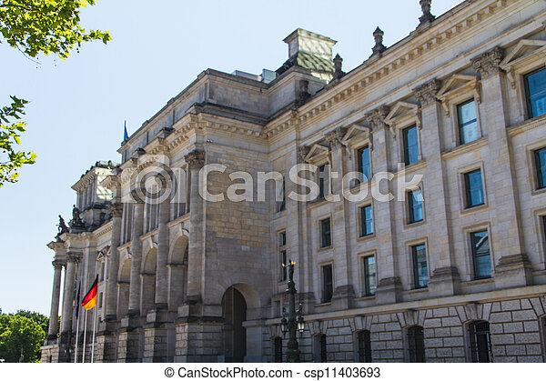 Berlin Government District - csp11403693