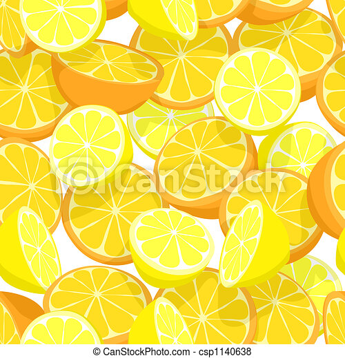 Citrus seamless tile - csp1140638