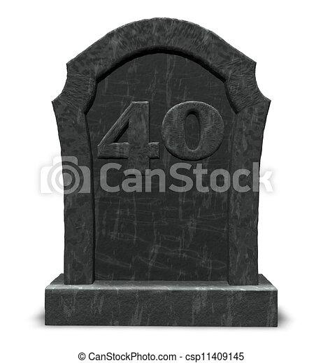 Dessin de pierre tombale nombre quarante pierre tombale csp11409145 recherchez des - Pierre tombale dessin ...