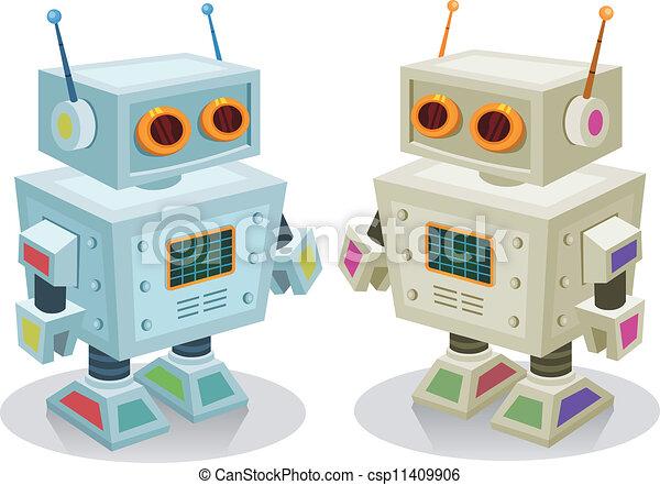 Robot Toy For Children - csp11409906