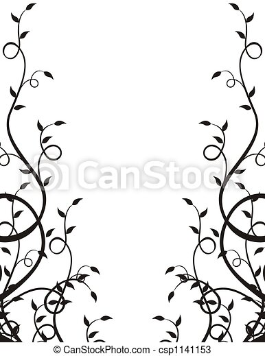 plants frame - csp1141153