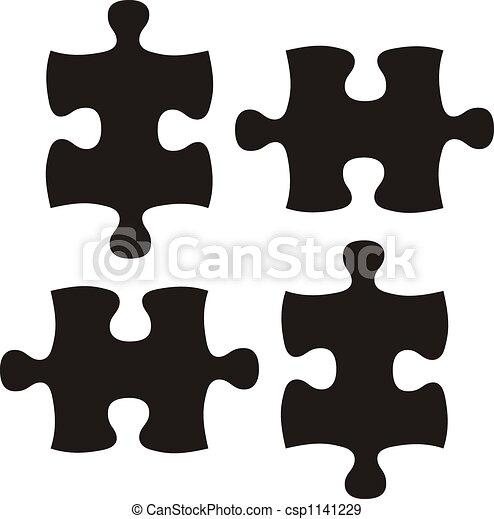 black puzzle - csp1141229