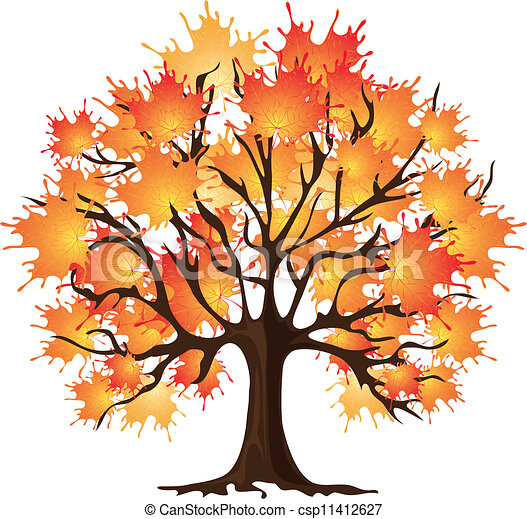 clip art of art autumn tree maple csp11412627 search tree without leaves clipart images clipart tree no leaves