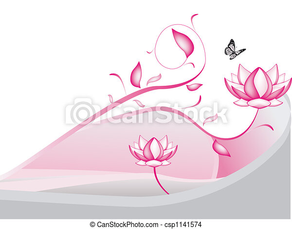 lotus flowers - csp1141574