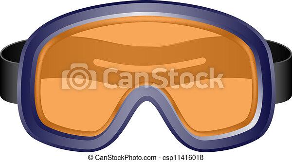Ski Goggles Vector Ski Sport Goggles Vector Clip