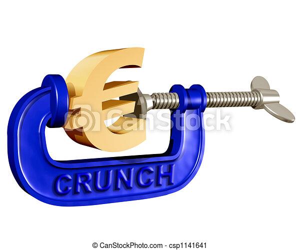 Squeezing the Euro - csp1141641