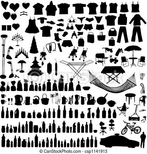 Household items set - csp1141913