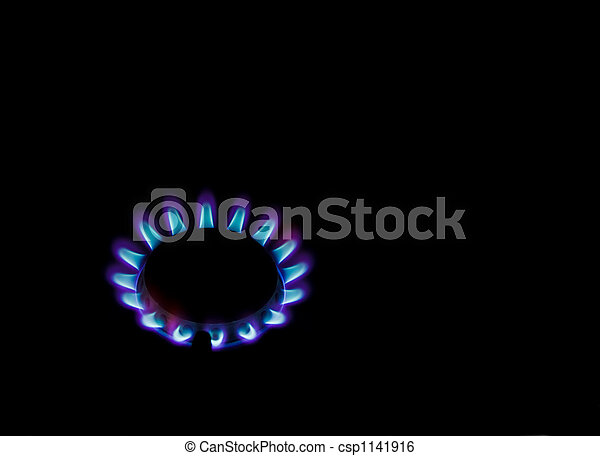 Gas flames - csp1141916