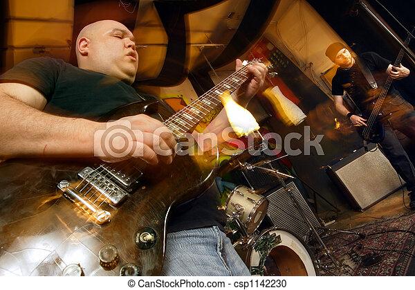 Heavy rock band - csp1142230
