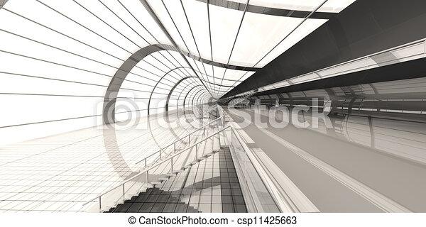 Airport Architecture - csp11425663