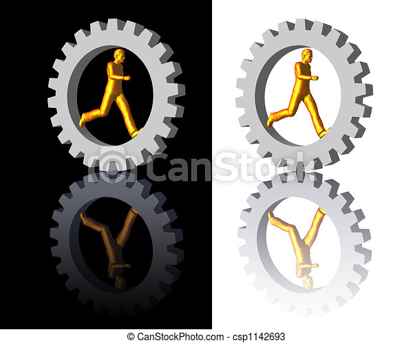 gear-man logo - csp1142693