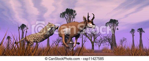Stock illustratie - jacht, scène, natuur - stock illustratie, royalty