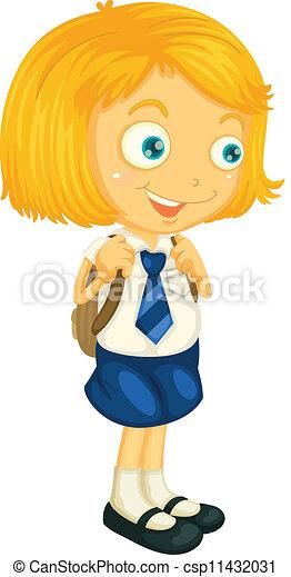 Clipart Of School Uniform  Clipartpig