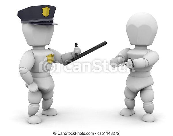 Arrested - csp1143272