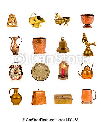 Stock de imagenes de cobre antiguo objetos colection - Objetos de cobre ...