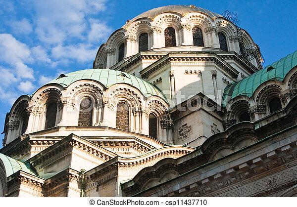 Memorial Church of St. Alexander Nevsky - csp11437710