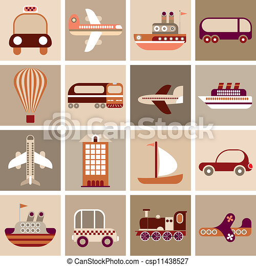 Travel and Transportation - csp11438527